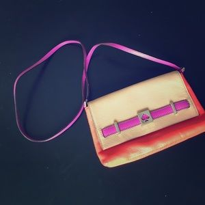 authentic kate spade cross body - good condition
